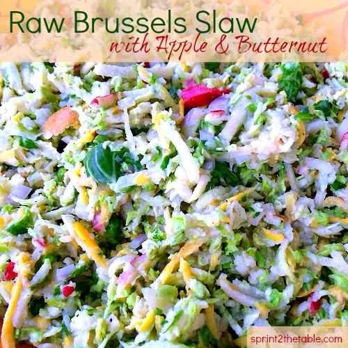 Raw Brussles Slaw