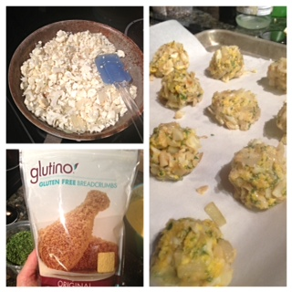 cauliflower meatballs process