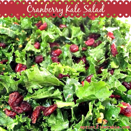 Cranberry Kale Salad