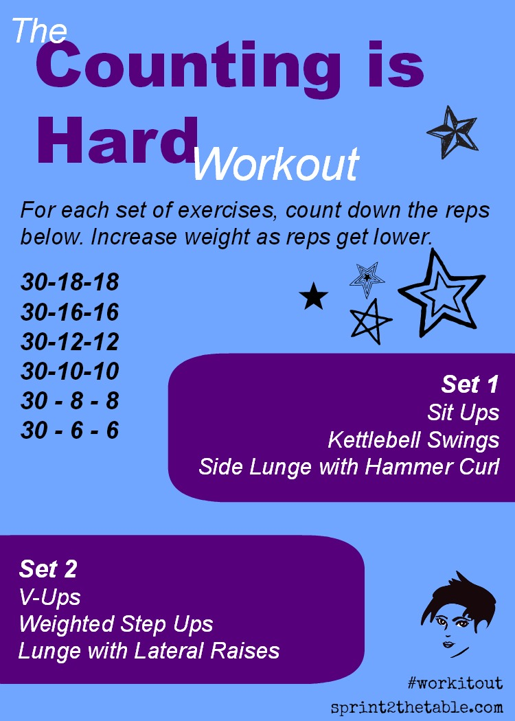 Counting is Hard Workout