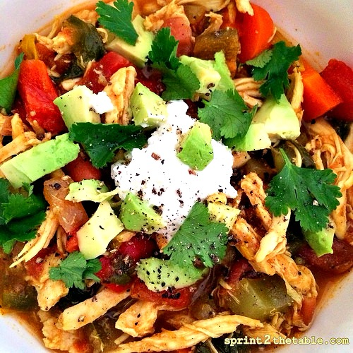 Mexi-Chicken Soup