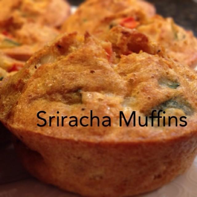 Sriracha Veggie Muffin
