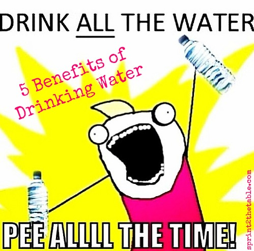 5 Benefits to Drinking Water