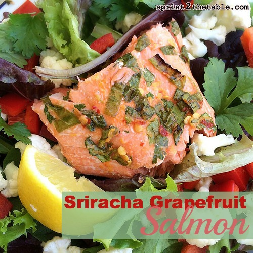 Sriracha Grapefruit Salmon