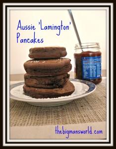 Aussie 'Lamington' Pancakes