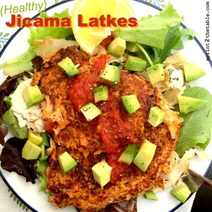 Healthy Jicama Latkes