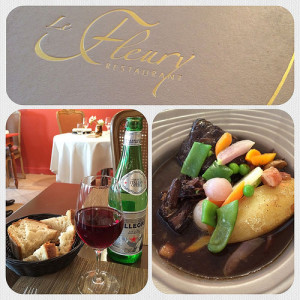 Le Fleury Restaurant - Beaune, France