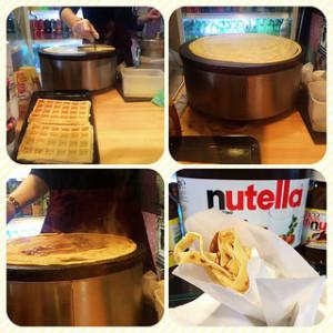 Nutella crêpe