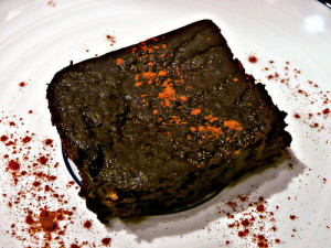 Mexican Black Bean Brownies