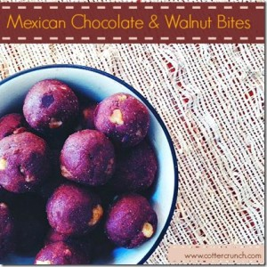 Mexican Chocolate & Walnut Healthy Bites