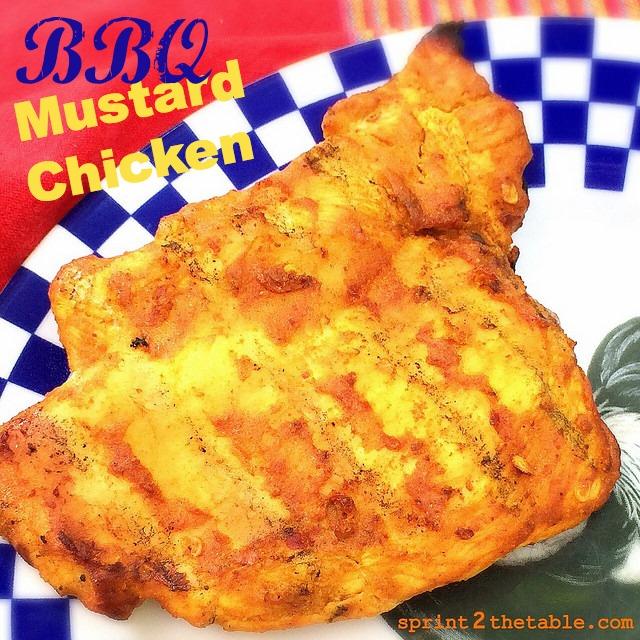 BBQ Mustard Chicken