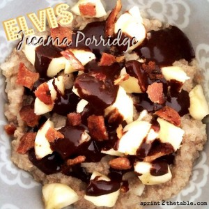Elvis Jicama Porridge