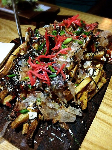 Illegal Food Okonomiyaki Fries