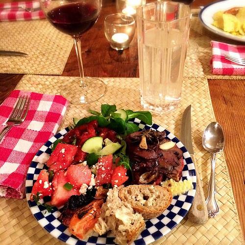Dad's dinner
