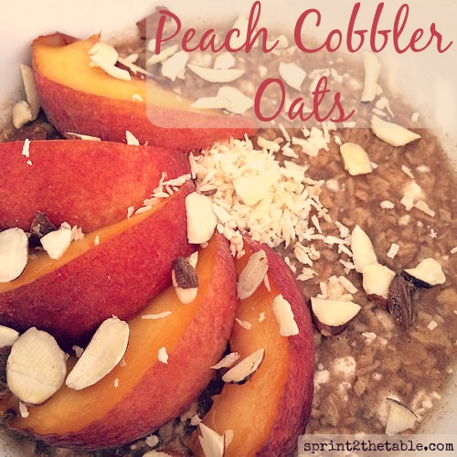Peach Cobbler TVP Oats