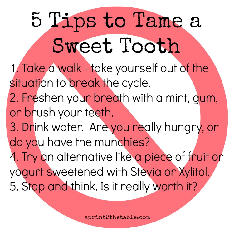 5 Tips to Tame a Sweet Tooth