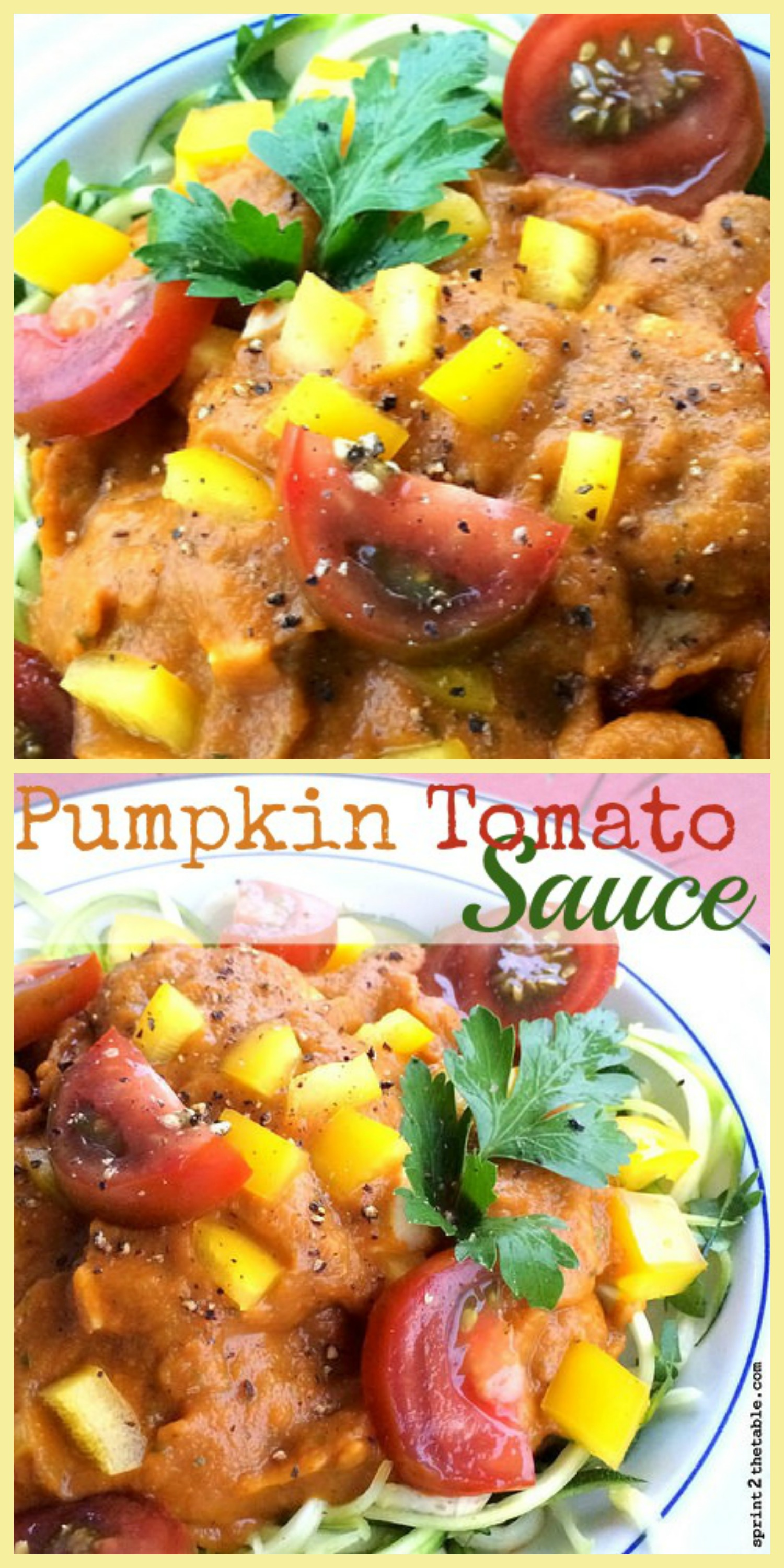 Copycat Whole Foods Pumpkin Tomato Sauce recipe - *almost* as easy as buying it off the shelf and a LOT cheaper!