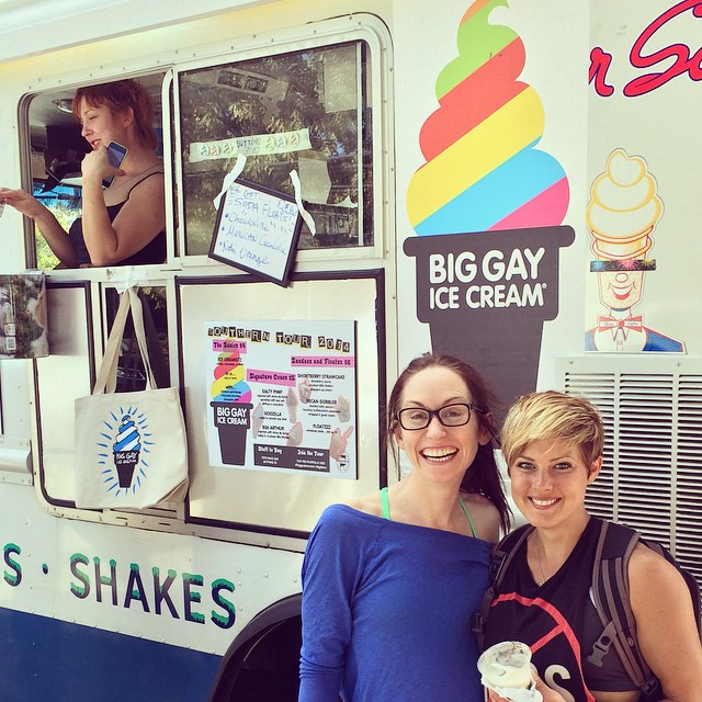 Lisa and Me with the Big Gay Ice Cream Truck