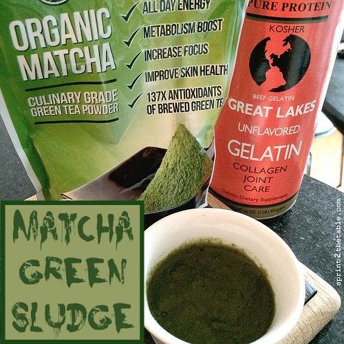 Matcha Green Sludge