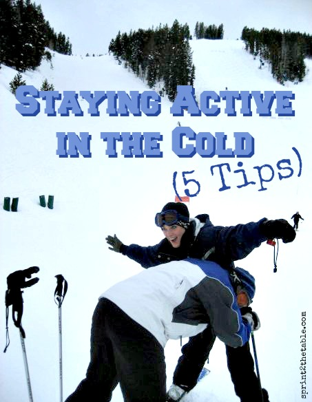 5 Tips for Staying Active in the Cold