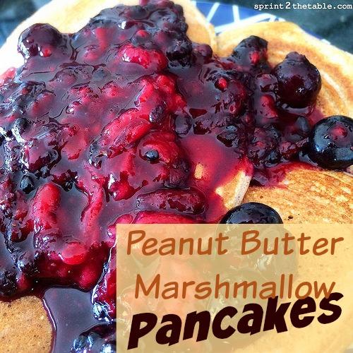 Peanut Butter Marshmallow Pancake Recipe