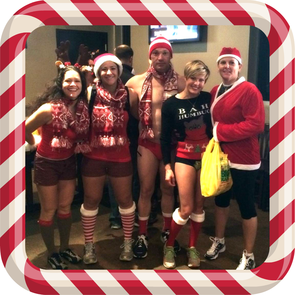 ATL Santa Speedo Run