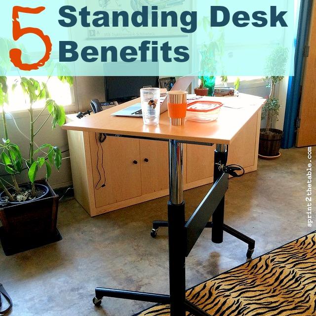 5 Standing Desk Benefits
