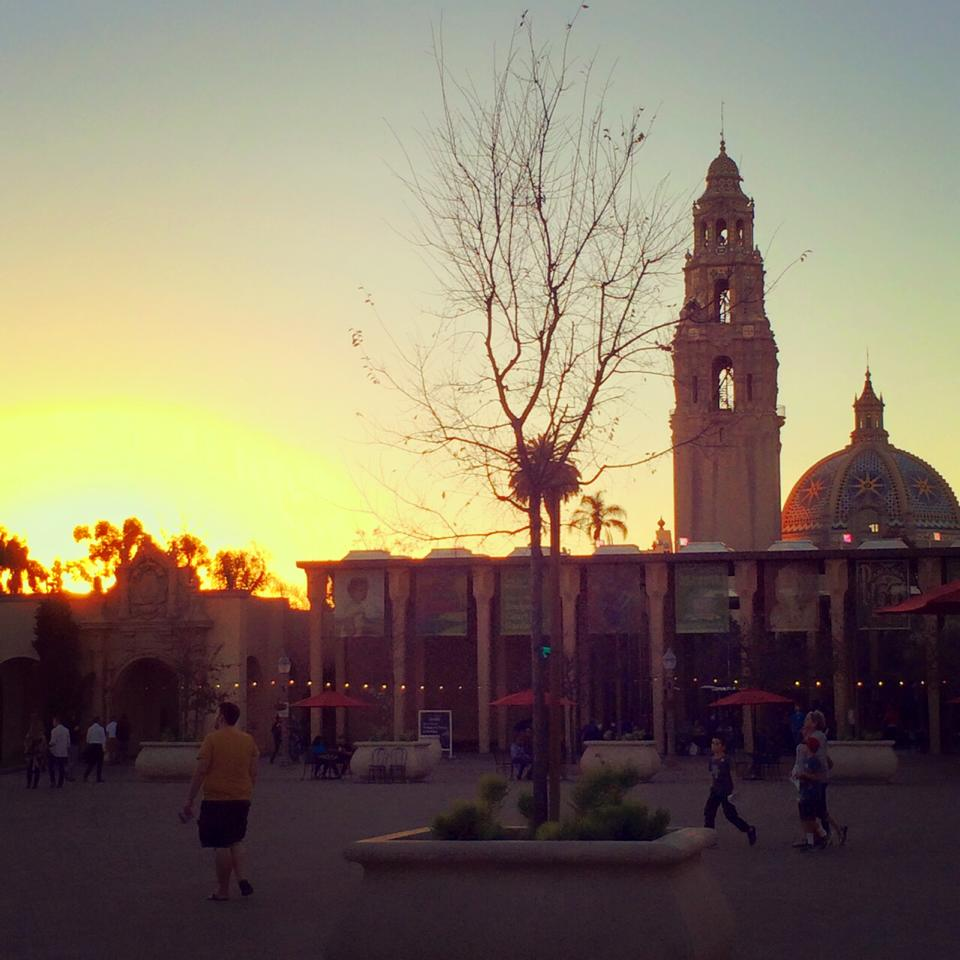 If I lived in San Diego people would think I was homeless because I'd practically live in Balboa Park.