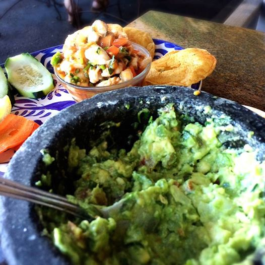 Guacamole at Ortegas in Hillcrest
