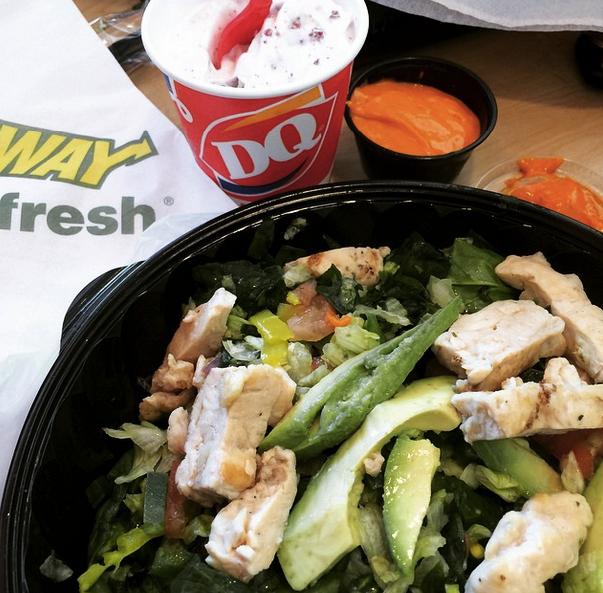 blizzard salad