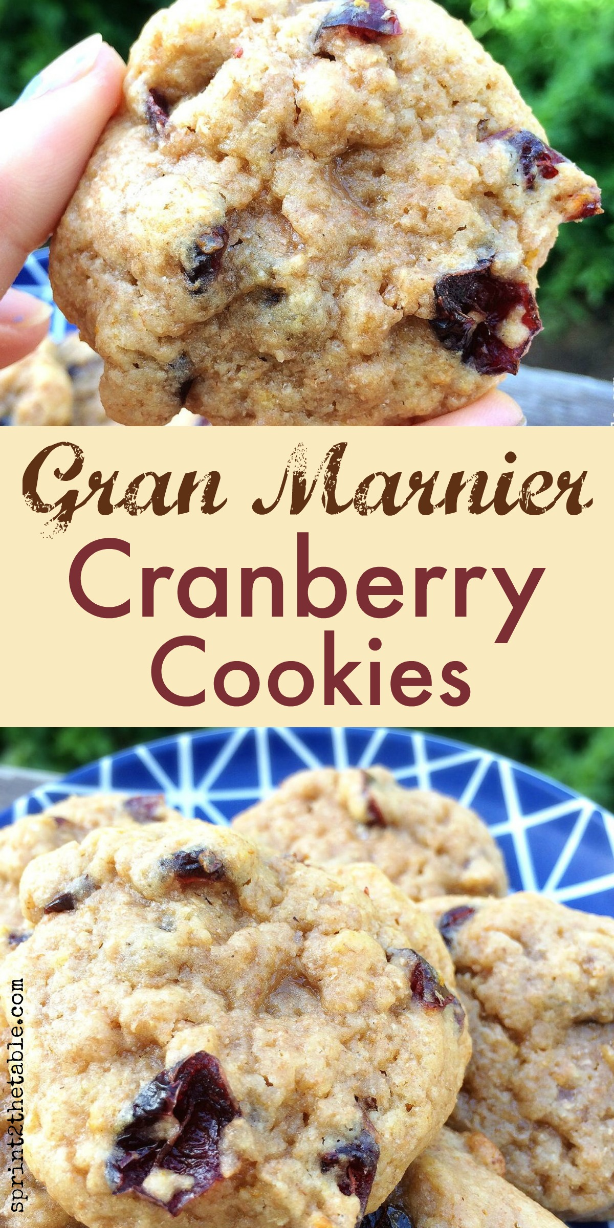 If you like a soft, doughy cookie, these Gran Marnier Cranberry Cookies will be your favorite too!