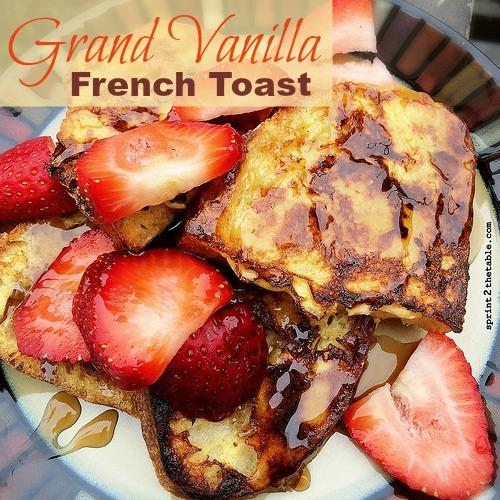 Grand Vanilla French Toast