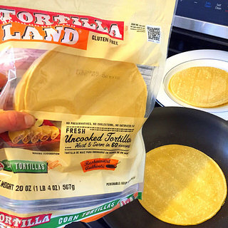 Tortilla Land uncooked tortillas