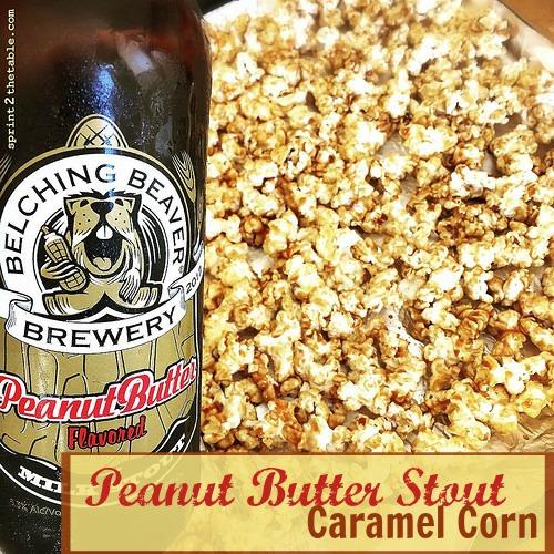 Peanut Butter Stout Caramel Corn