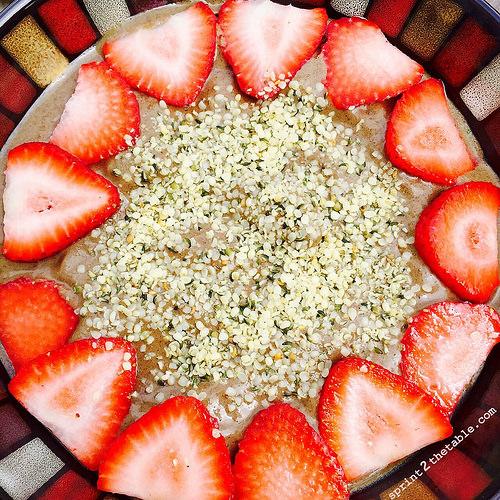 Strawberry Açaí Protein Bowl