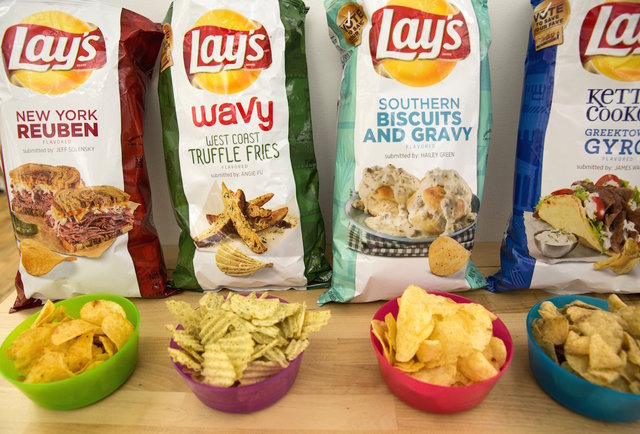 2015 Lay's flavors