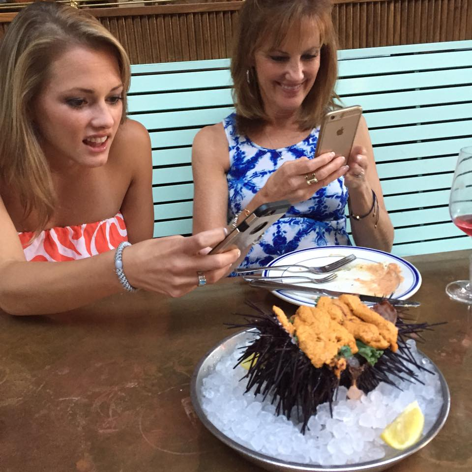 Madi and Mom with uni