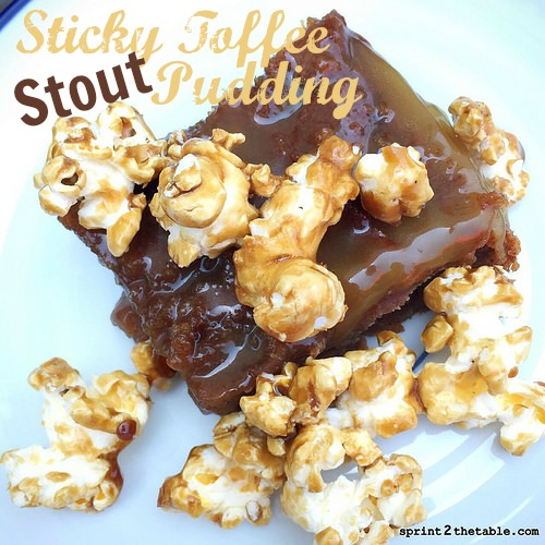 Sticky Toffee Stout Pudding