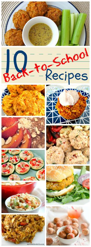 10 Back-to-School Recipes