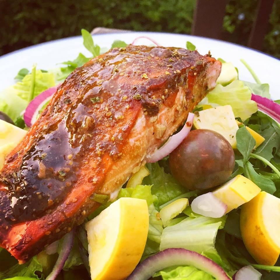 Dijon Baked Salmon
