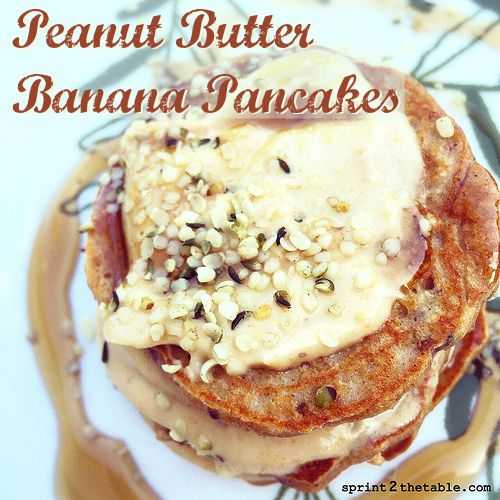 Grain-Free Peanut Butter Banana Pancake