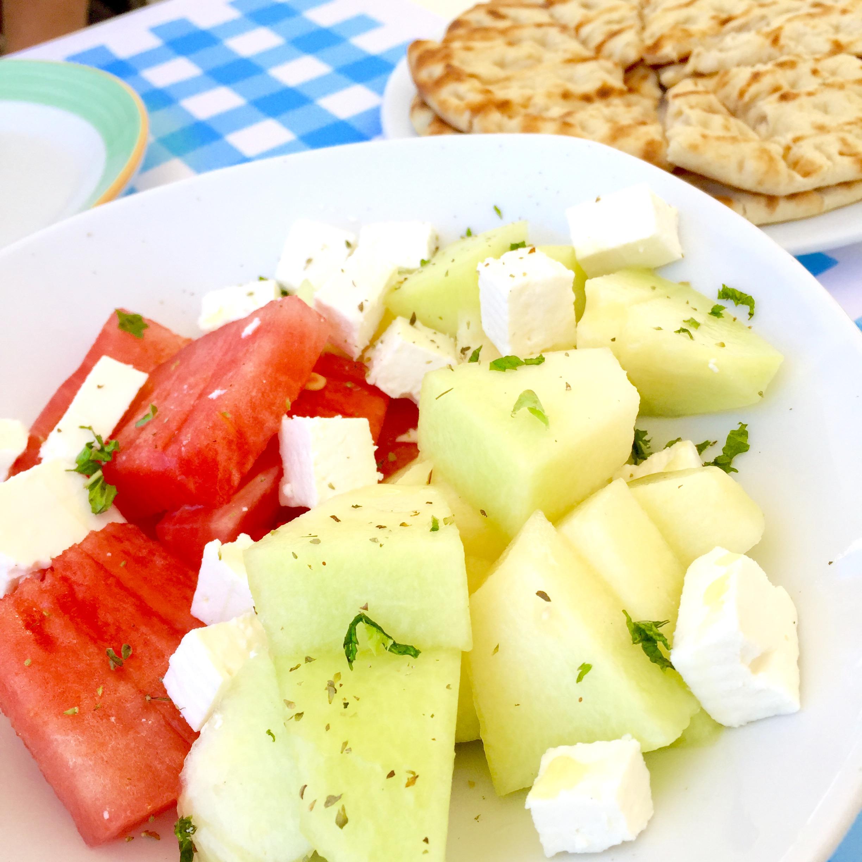 Melon-Feta Salad