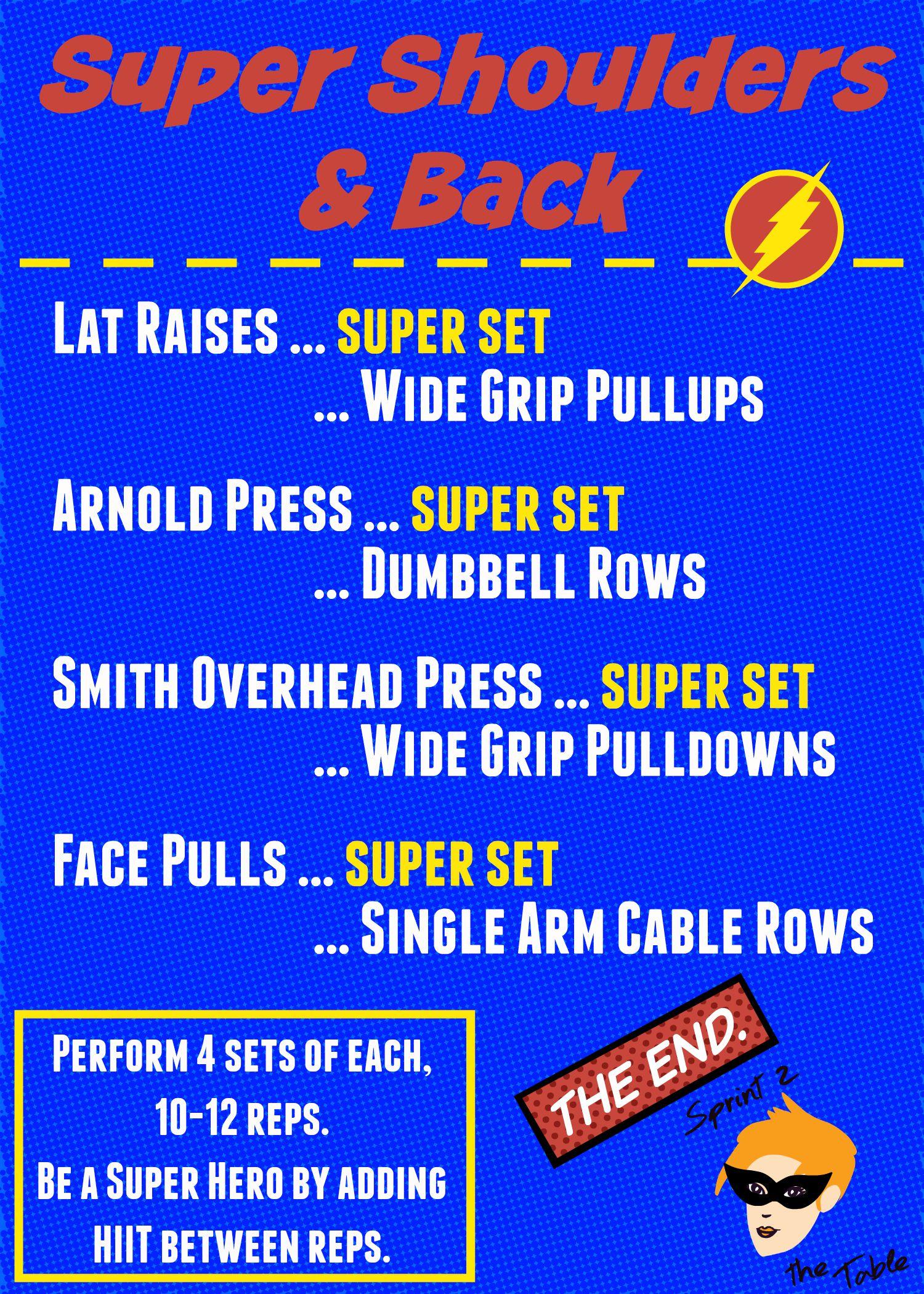 Super Shoulders & Back Workout