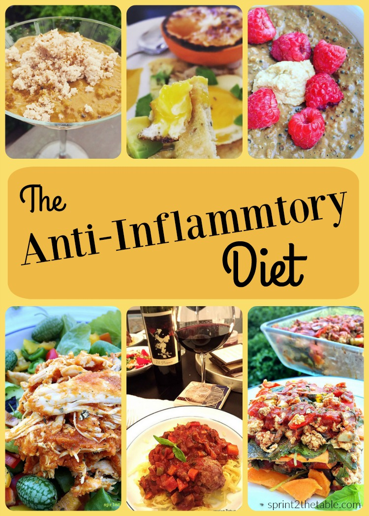 Anti-Inflammatory Diet - great for a reset, to reduce bloat, and to relieve joint pain!