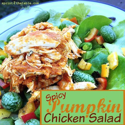Spicy Pumpkin Chicken Salad [Recipe]
