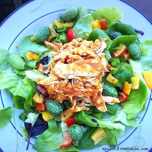 Spicy Pumpkin Chicken Salad