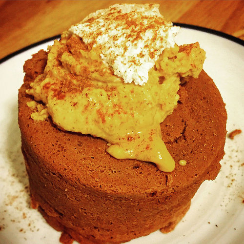 150 Calorie Mug Cake with PB