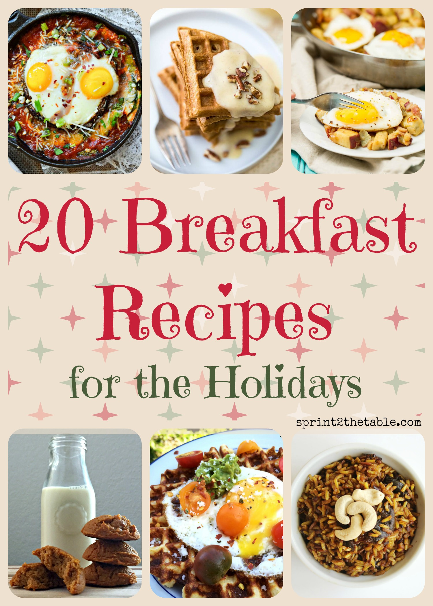 20 Breakfast Recipes for the Holidays