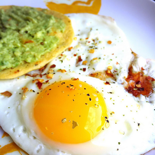 Eggs and Socca