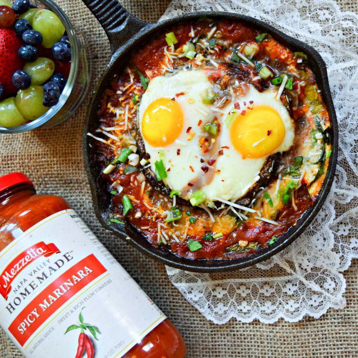 Portobello Eggs Inferno